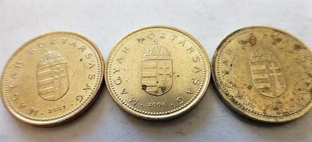 1 Forint 1995-2007 fémpénz érme Magyarország