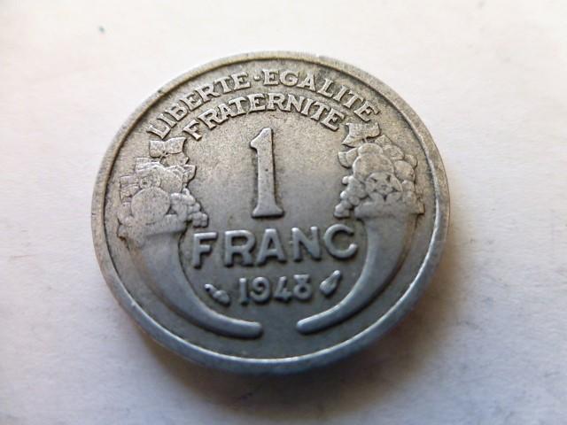 1 Franc fémpénz 1948 Franciaország