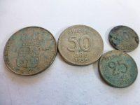 1 korona öre ezüst fémpénz Svédország lot 3.900 Ft