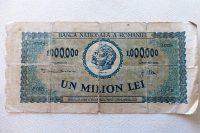 1.000.000 Lei Un Milion Lei 1947 papírpénz Románia 199 Ft