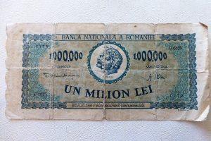 1.000.000 Lei Un Milion Lei 1947 papírpénz Románia