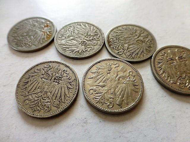 10 Heller fémpénz Ausztria 1894-1915