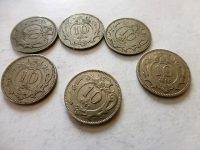 10 Heller fémpénz Ausztria 1894-1915 190 Ft