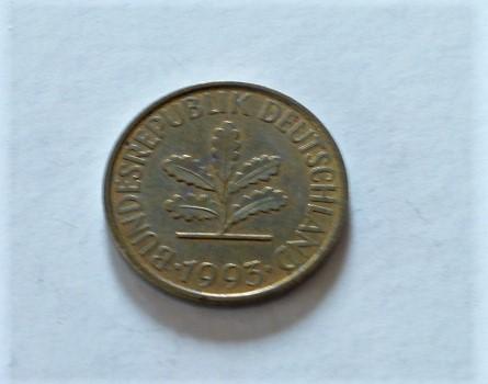 10 Pfennig 1993 fémpénz Németország NSZK