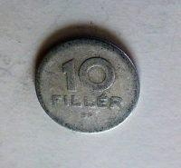 10 fillér 1961 Magyar Népköztársaság