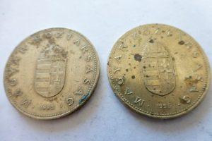 100 forint 1995 fémpénz Magyarország