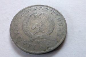 2 Forint 1950 fémpénz Rákosi címer