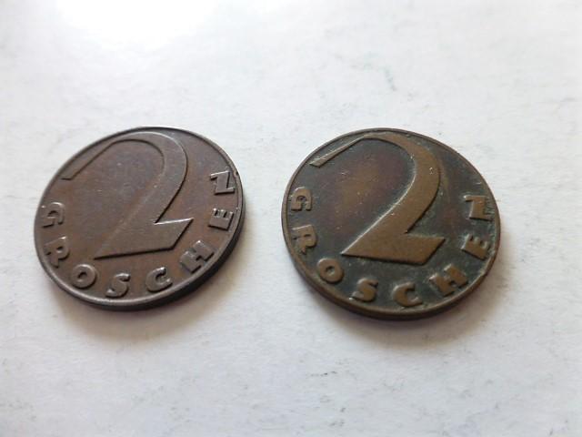 2 Groschen 1927-1929 Ausztria