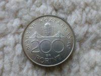 200 Forint 1993 ezüst fémpénz