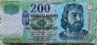 200 Forint papírpénz 2007