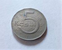 5 Korona fémpénz Csehszlovákia 1983 99 Ft