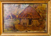 Bobak Kunyhó előtt festmény 9.900 Ft