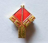 CCCP Szovjetunió jelvény