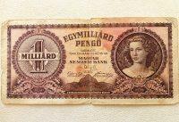 Egymilliárd Pengő papírpénz 1946
