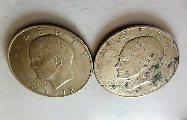 Eisenhower 1 dollár USA 1972