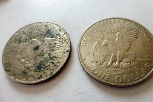 Eisenhower, 1 dollár, USA, 1972