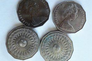 Ezüst Jubileum Silver Jubilee 50 cents 1977 Ausztrália pénzérme