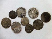 Lengyel ezüstpénz érme 1500-1600 Poltorak