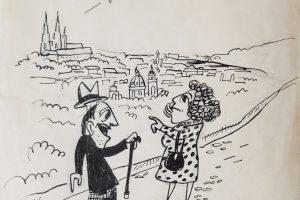 Ludas Matyi vicc illusztráció grafika rajz