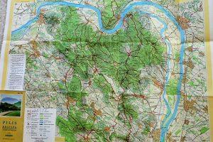 Pilis Hegység Turistatérkép 1978