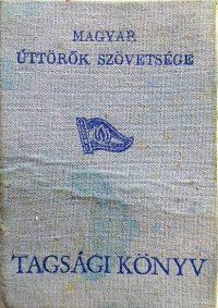 Úttörő tagsági könyv