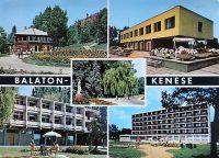 Balatonkenese Balaton régi képeslap