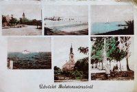 Balatonszárszó Balaton régi képeslap