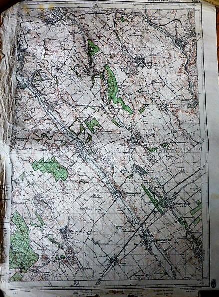 Bicske Etyek Martonvásár katonai térkép 1944