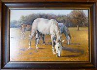 Bodor Miklós Hárman festmény 79.900 FT