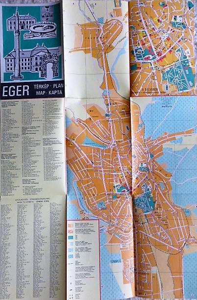 Eger térkép 1979