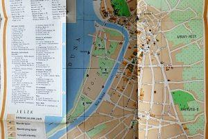 Esztergom Járási Jogú Város térkép 1958