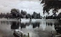 Fonyód Móló Balaton régi képeslap