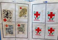 Magyar Vöröskereszt Tagsági könyv 1961 bélyeggel