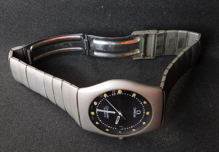 Omega Seamaster quartz óra