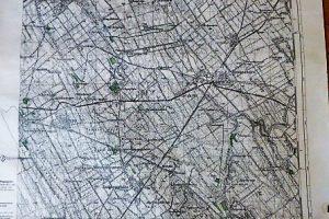 Perkáta Agárd Velence katonai térkép 1944