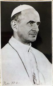 VI. Pál Pápa fénykép 1963
