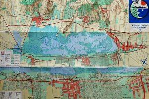 Velencei tó és környéke térkép 1969
