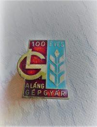 100 ÉVES A Láng Gépgyár jelvény