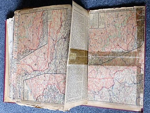 Első világháború története 211 korabeli térképen
