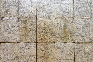 Eszék környéke térkép 1900-as évek