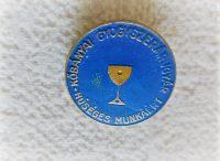 Kőbányai Gyógyszerárugyár Kiváló Munkáért érem kitüntetés jelvény