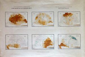 Magyarország Népessége Anyanyelv szerint 1890 térkép