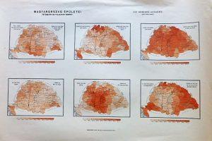 Magyarország Épületei térkép 1890