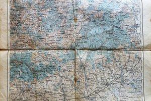 Miskolcz Bükk térkép 1915