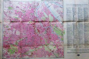 Bécs térkép 1940