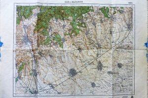 Eger és Mezőkövesd környéke térkép 1931