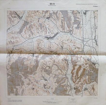 Felsőmindszent Bakóca környéke térkép 1967