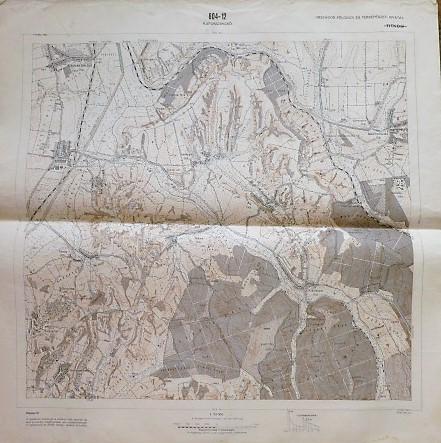 Kaposzsekcső Alsómocsolád környéke térkép 1967