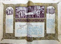 Konfirmáció emléklap 1936