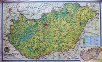 Magyarország Gazdálkodása térkép Rákosi címer
